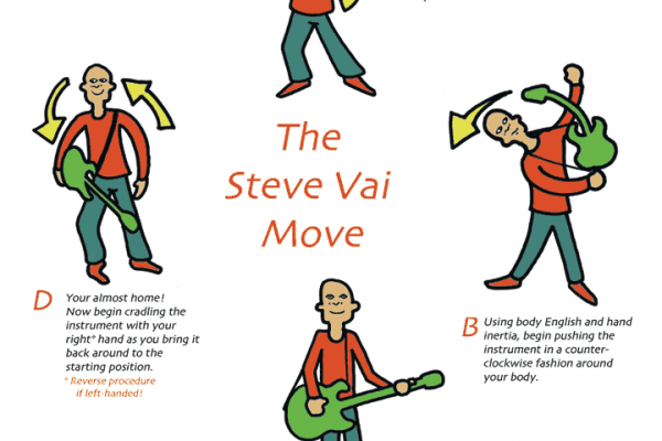 The Steve Vai Move