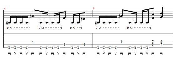 """Riff guitarra """"Call To Arms"""" MAB"""