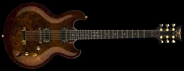 DVZ Usa Imperial EXOTIC Redwood Burl Abmerburst