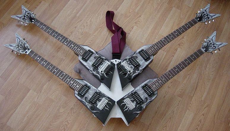 michael angelo batio quad guitar. Black Bedroom Furniture Sets. Home Design Ideas