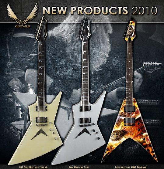 Dean Guitars 2010