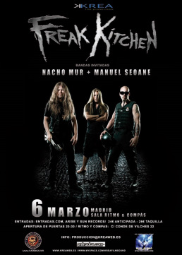 Freak Kitchen concierto Madrid