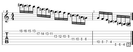 Escala menor armónica