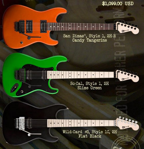 Charvel U.S.A. Production Model