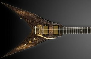 Guitarra DBZ Snake Skin Venom