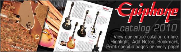 Catalogo guitarra Epiphone