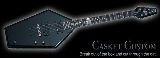 Schecter custom Casket