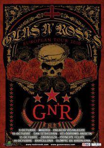 Gira europea Guns N' roses