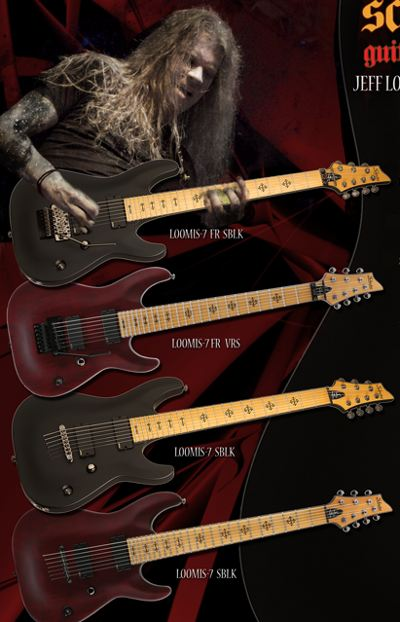 Jeff Loomis Schecter Signature Guitar