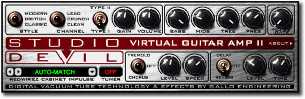 Amplificador virtual Studio Devil Virtual Amp