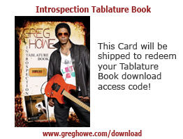 Greg Howe introspection ebook