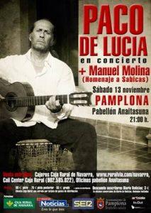 Concierto de Paco de Lucía