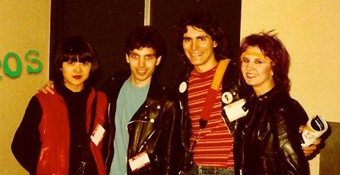 Steve Vai y Satriani jovenes