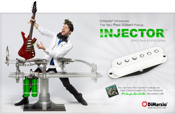 DiMarzio Injector Paul Gilbert