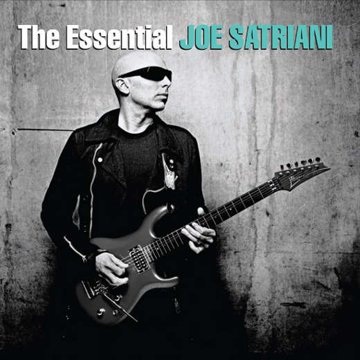 Portada The Essential Joe Satriani