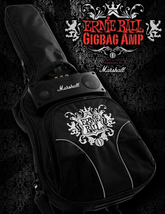 Funda guitarra-amplificador Marshall Ernie Ball