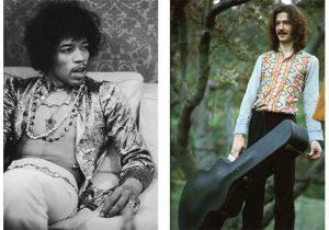 Jimi Hendrix y Eric Clapton