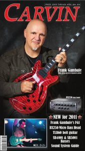 Catálogo de guitarras y amplificadores Carvin 2011