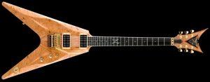 DBZ Guitar USA Cavallo Burl Natural