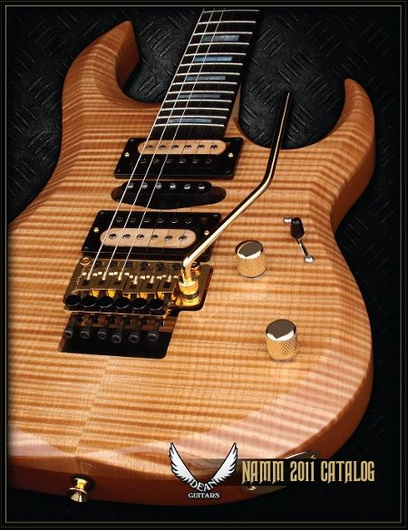 Catálogo Dean Guitars 2011