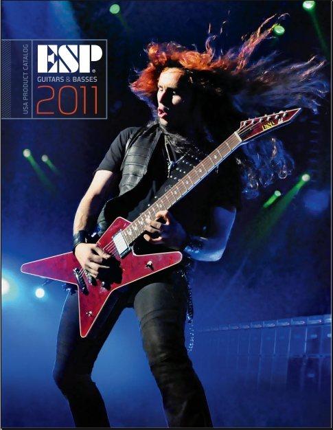 Catálogo guitarras y bajos ESP LTD 2011
