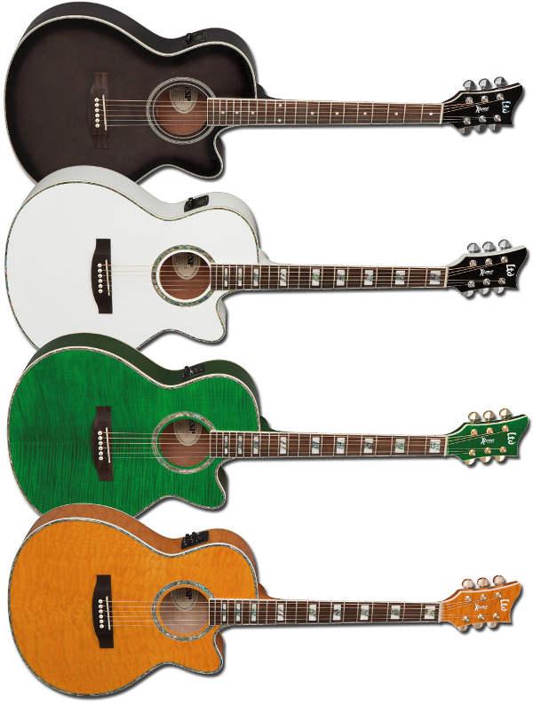 Guitarras acústicas LTD X-Tone