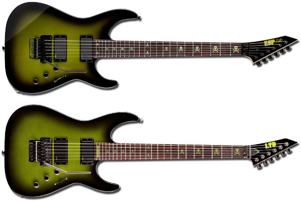 ESP KH-2 SE y LTD KH-SE Kirk Hammett Signature