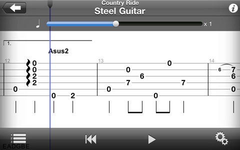 Guitar Pro para iPhone, iPad e iPod Touch