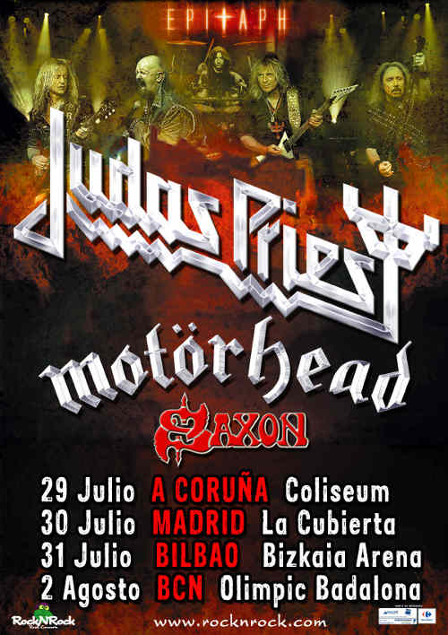 Judas Priest Epitaph World Tour