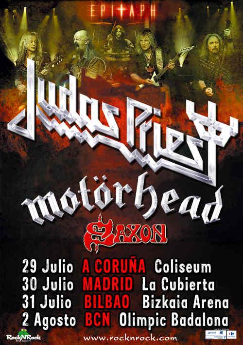 Judas Priest Epitaph World Tour