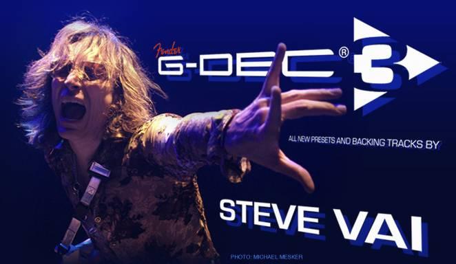 Fender G-DEC 3 Steve Vai