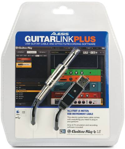 guitarlink plus cable Jack-USB