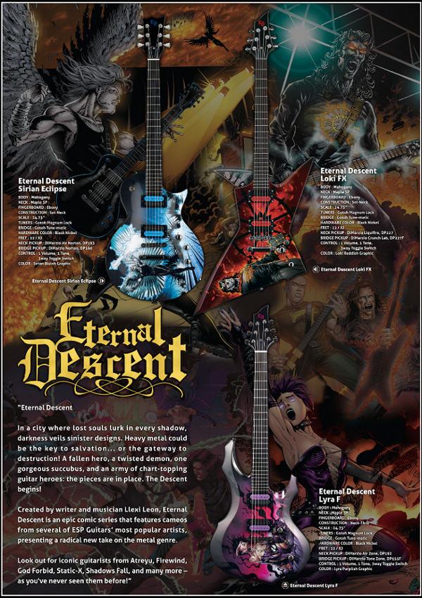 Guitarras Esp Eternal Descent