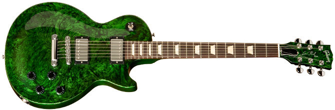 Gibson USA Anniversary Flood Les Paul Studio verde