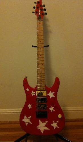 Ibanez Paul Gilbert Custom