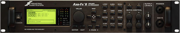 frontal axe-fx II