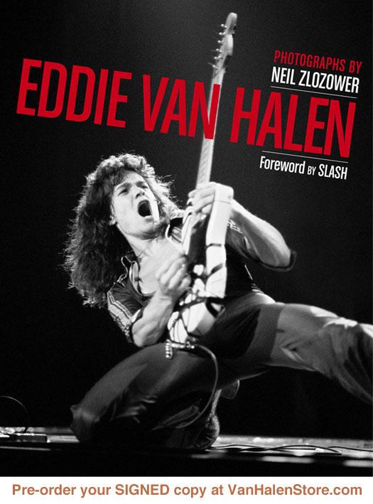 Libro de fotos de Eddie Van Halen
