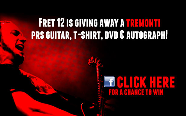 Sorteo guitarra PRS Mark Tremonti