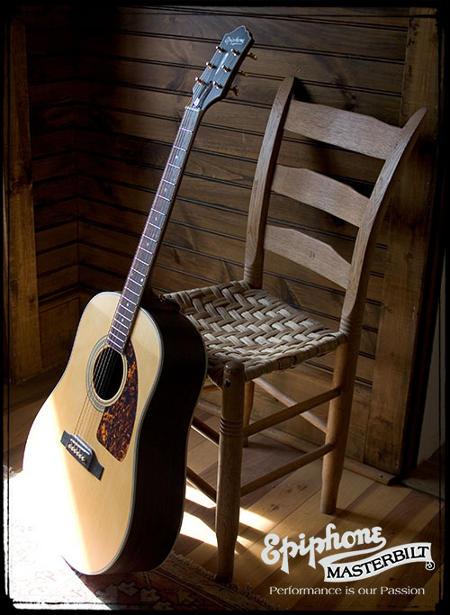 guitarras acústicas Epiphone Masterbilt