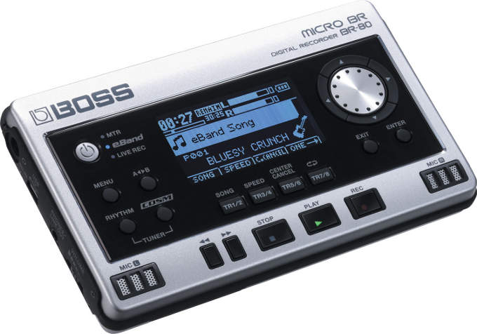 Grabadora digital Boss Micro BR BR-80