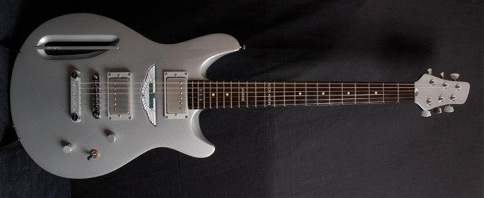 Guitarra Aston Martin