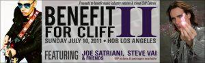 Steve Vai y Joe Satriani A Benefit for Cliff II