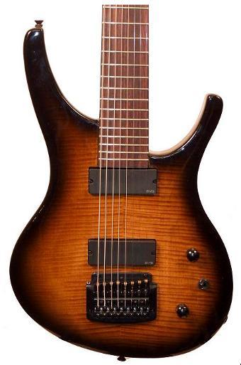 Guitarra Halo 8 cuerdas