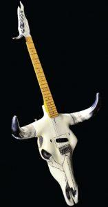 The Cowcaster guitarra calavera toro