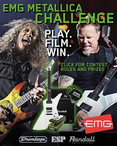 Concurso de EMG y Metallica