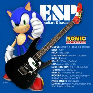 Guitarra ESP Sonic