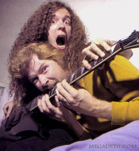 Marty Friedman y Dave Mustaine