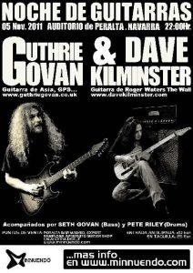 Noche de guitarras Guthrie Govan Keith Emerson