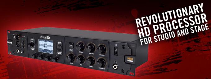 Line 6 POD HD Pro rack