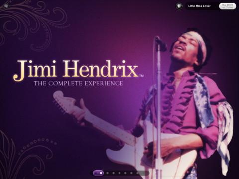 Jimi Hendrix Experience iPad